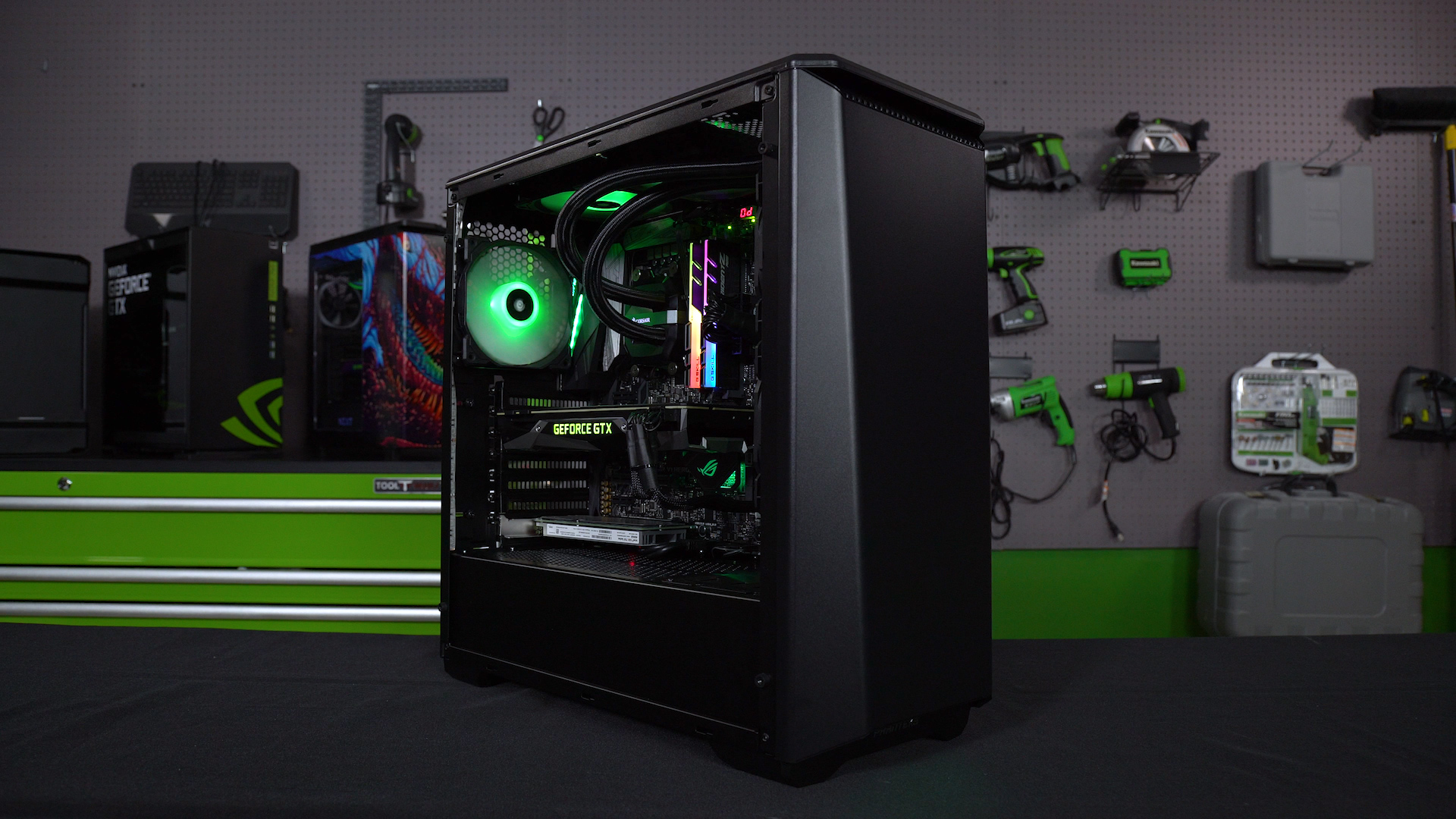 GeForce Garage An Ultimate RGB Elite Performance Build Powered By