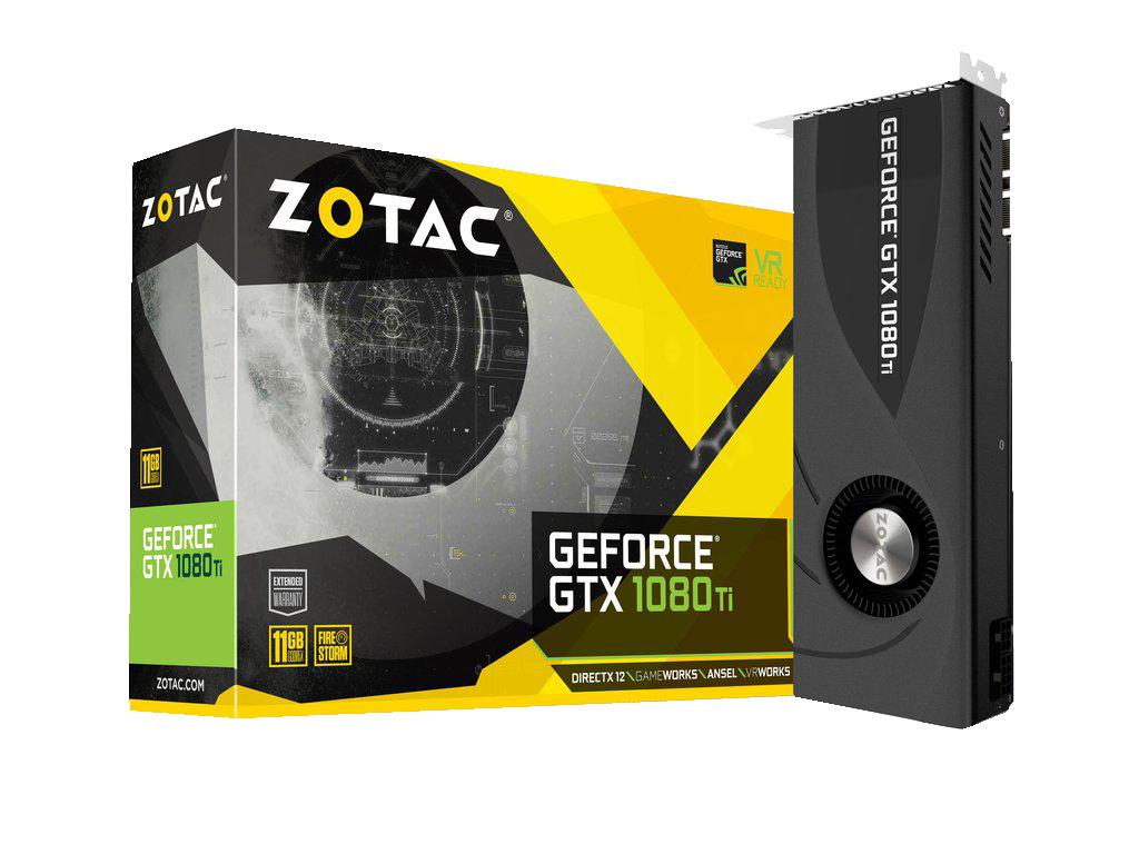 ZOTAC GeForce GTX 1080 Ti Blower