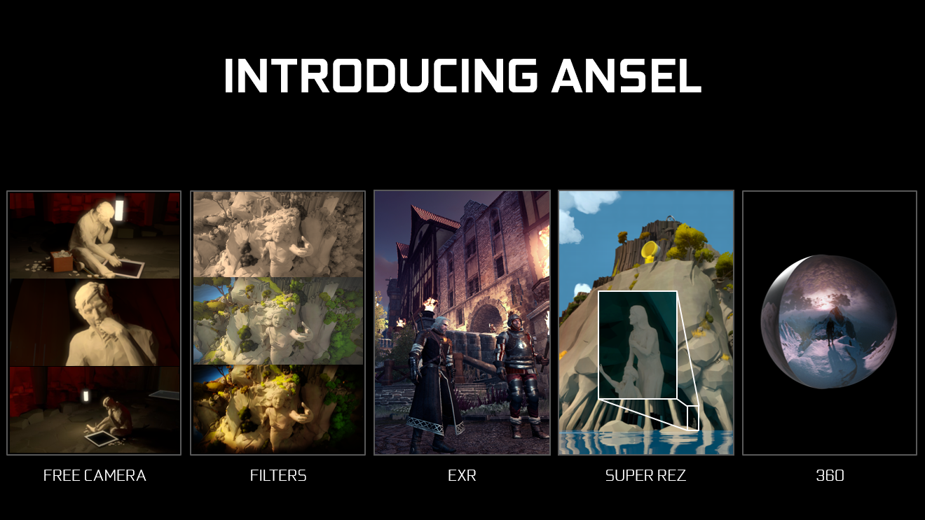 Simply Put Ansel Enables You To Make And Capture Your Own Unique And Personally Framed Screenshots Via An Easy To Use User Interface On Nvidia Geforce Gtx