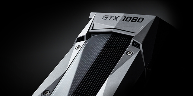 Check out the sleek craftsmanship of the new GeForce GTX 1080 Graphics Card