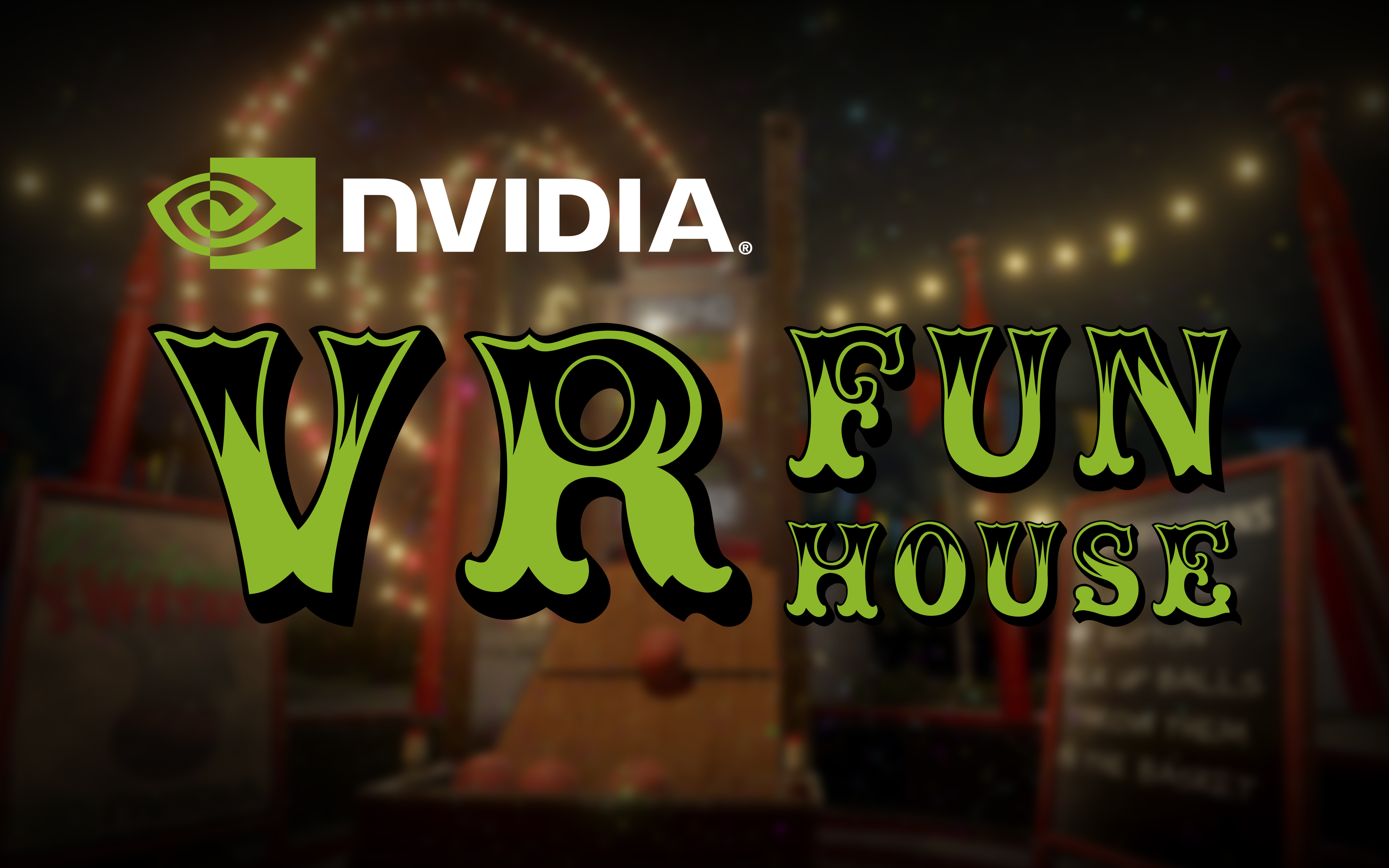 Nvidia vr funhouse powered by the new pascal architecture for Vr house