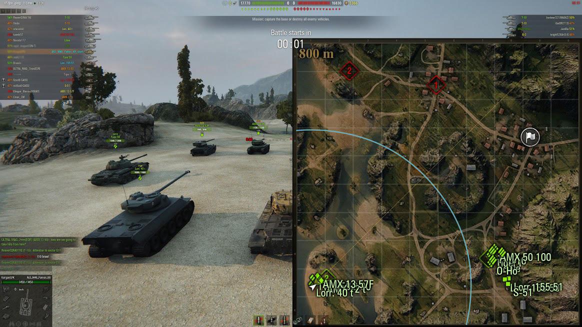 wot map awareness mod
