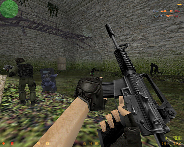 Half-life gave birth to one of the most successful mods of all time, Counter-Strike.