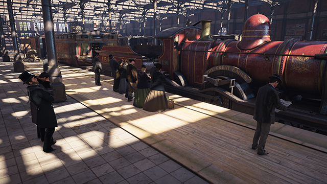 Assassin's Creed Syndicate - Ambient Occlusion Interactive Comparison #005 - NVIDIA HBAO+ Ultra vs. SSAO