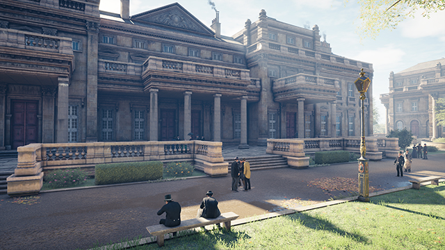 Assassin's Creed Syndicate - Ambient Occlusion Interactive Comparison #007 - NVIDIA HBAO+ Ultra vs. SSAO
