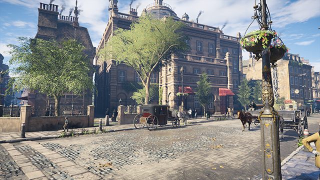 Assassin's Creed Syndicate - Anti-Aliasing Quality - TXAA vs. No Anti-Aliasing Interactive Comparison #001