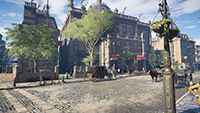 Assassin's Creed Syndicate - Anti-Aliasing Quality Example #001 - Anti-Aliasing Disabled