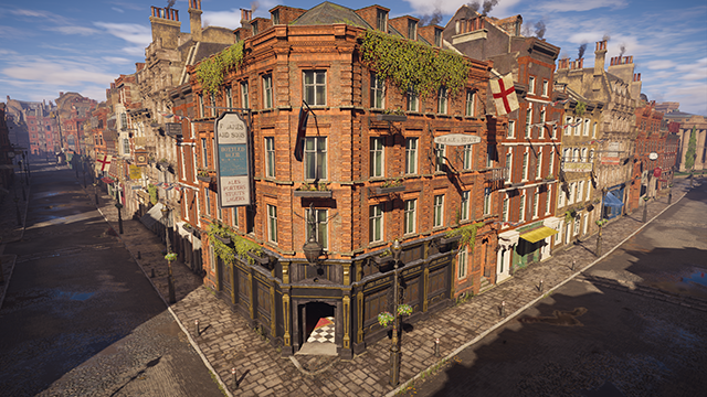 Assassin's Creed Syndicate - Environment Quality Interactive Comparison #001 - Ultra High vs. Low