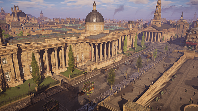 Assassin's Creed Syndicate - Environment Quality Interactive Comparison #002 - Ultra High vs. Low