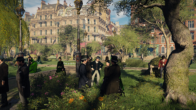 Assassin's Creed Syndicate - NVIDIA Dynamic Super Resolution Comparison #001 - 1920x1080 vs. 3840x2160
