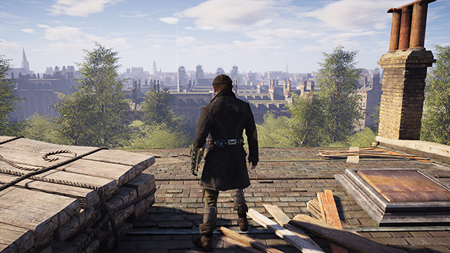 Assassin's Creed Syndicate - Texture Quality Interactive Comparison #001 - High vs. Low