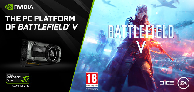 GeForce GTX is the PC platform of Battlefield V