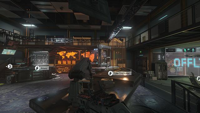 Call of Duty: Black Ops 3 - Volumetric Lighting Interactive Comparison #2