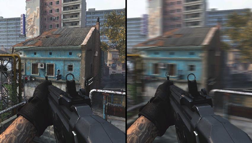 Call of Duty: Modern Warfare - World Motion Blur #001 - On vs. Off