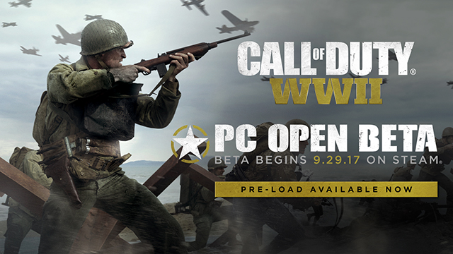 Call of Duty: WWII PC Multiplayer Open Beta Download Available Now On Steam