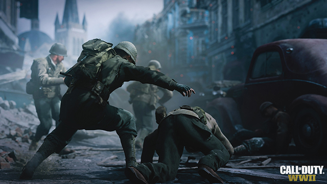 Call of Duty: WW2 Announcement Screenshot