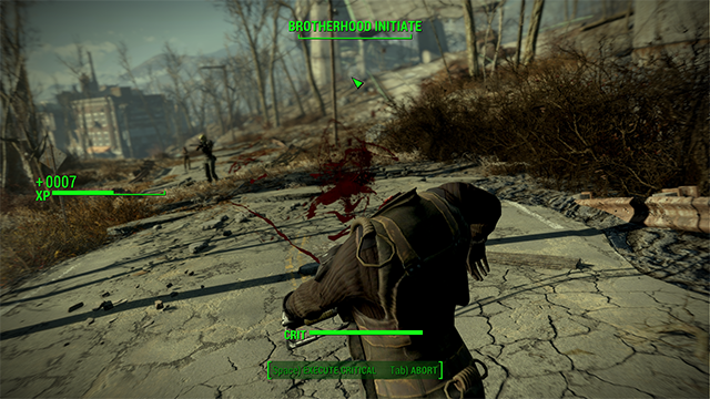 Fallout 4 Crossbows of the Commonwealth fire