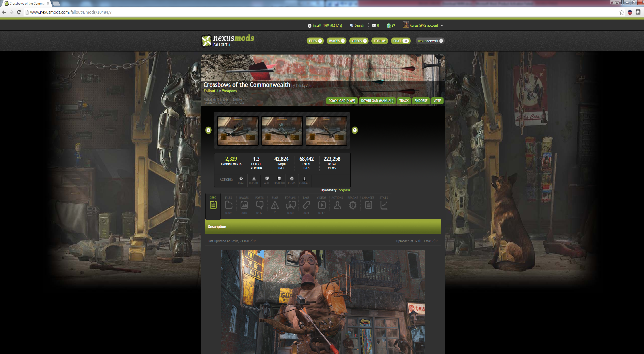 How To Add Crossbows To Fallout 4 Geforce