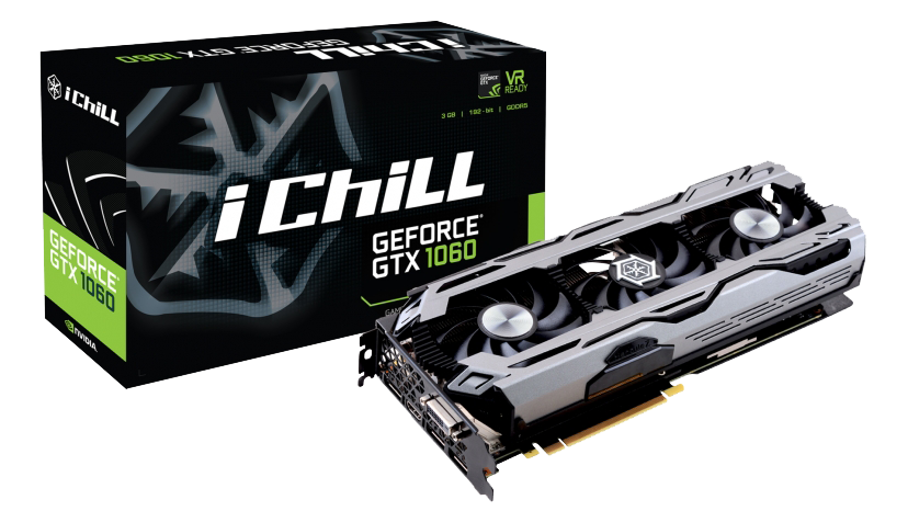 Inno3D iChill GeForce GTX 1060 X3 (6GB/3GB)