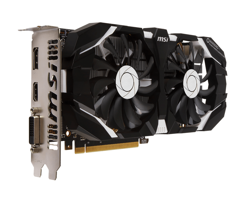 MSI GeForce GTX 1060 6GT OCV1 (6GB/3GB)
