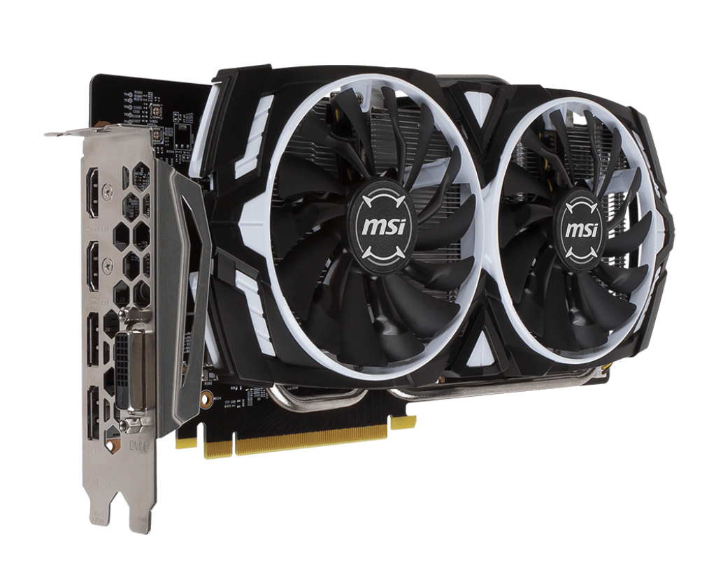 MSI GeForce GTX 1060 Armor OCV1 6G/3G