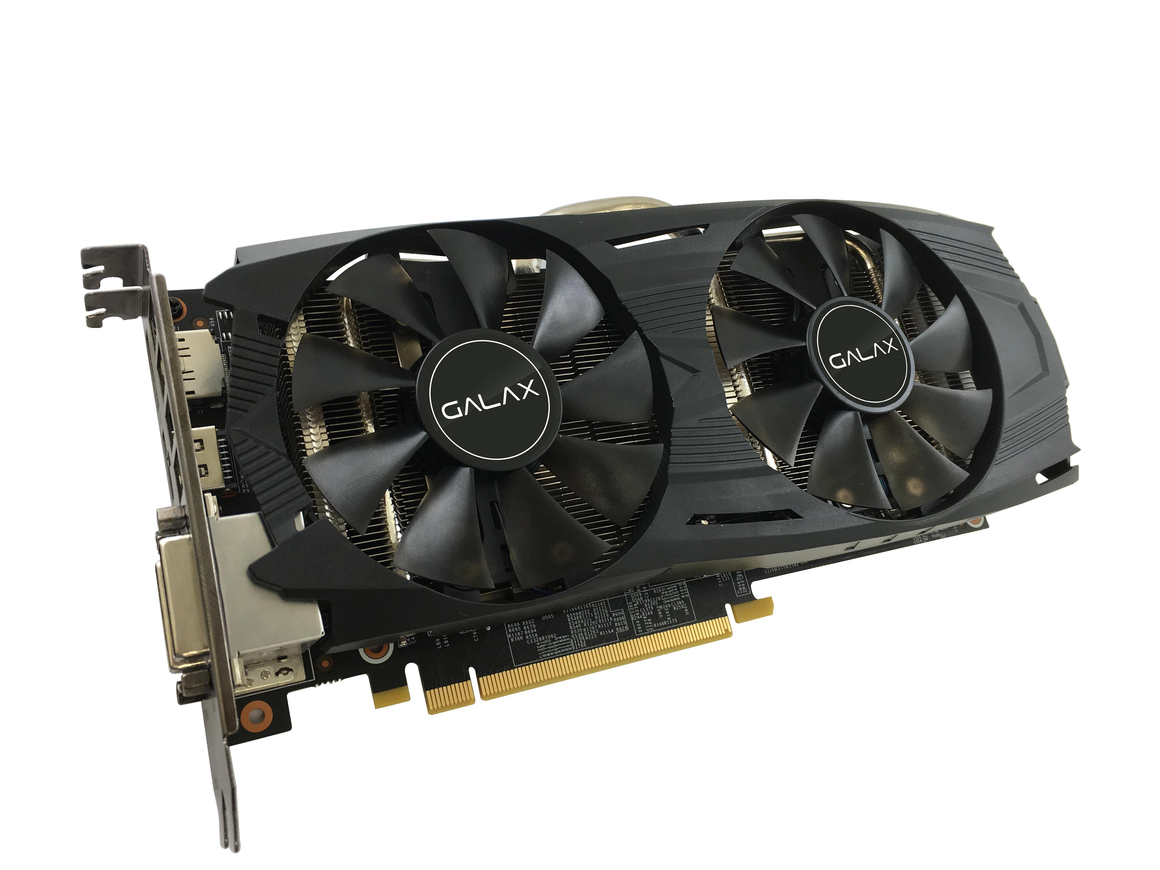 GALAX/KFA2 GeForce GTX 1060 EX OC Black 6GB