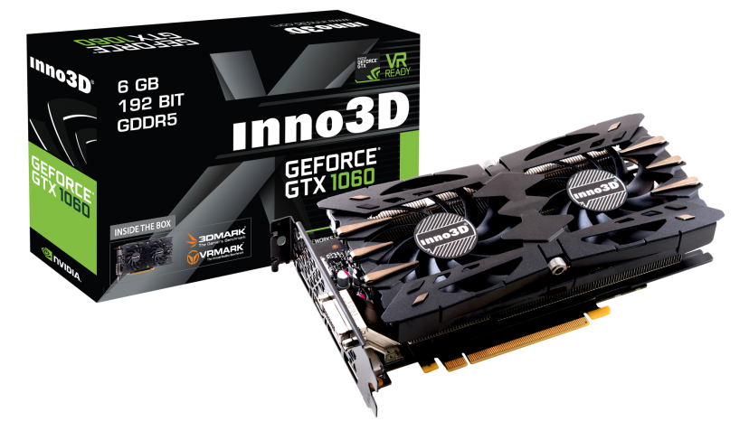 Inno3D GeForce GTX 1060 Twin X2 (6GB/3GB)