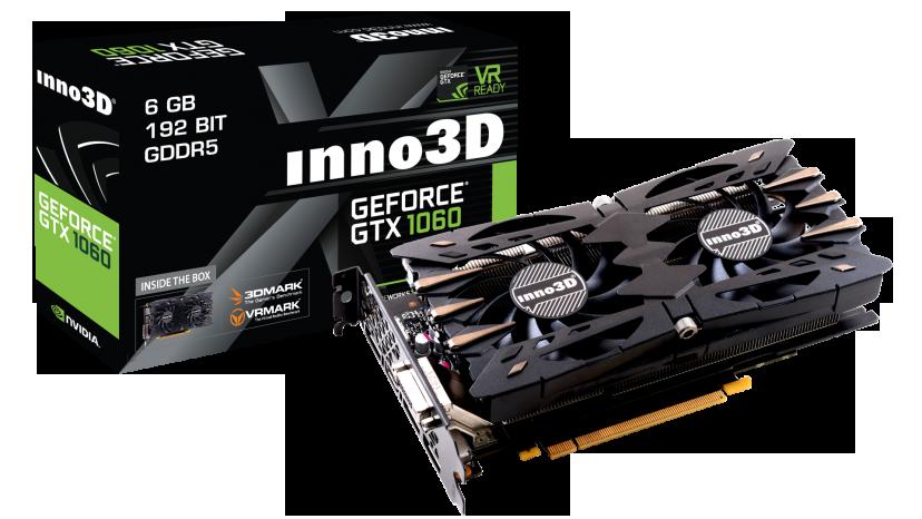 Inno3D GeForce GTX 1060 Twin X2 (6GB/3GB)