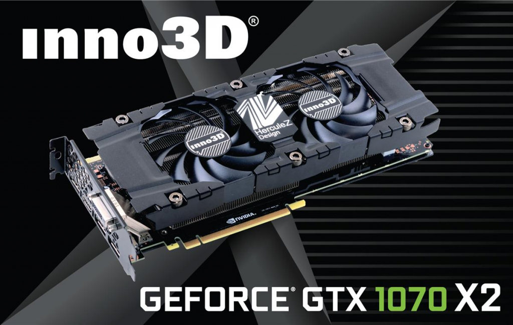 Inno3D GeForce GTX 1070 Twin X2