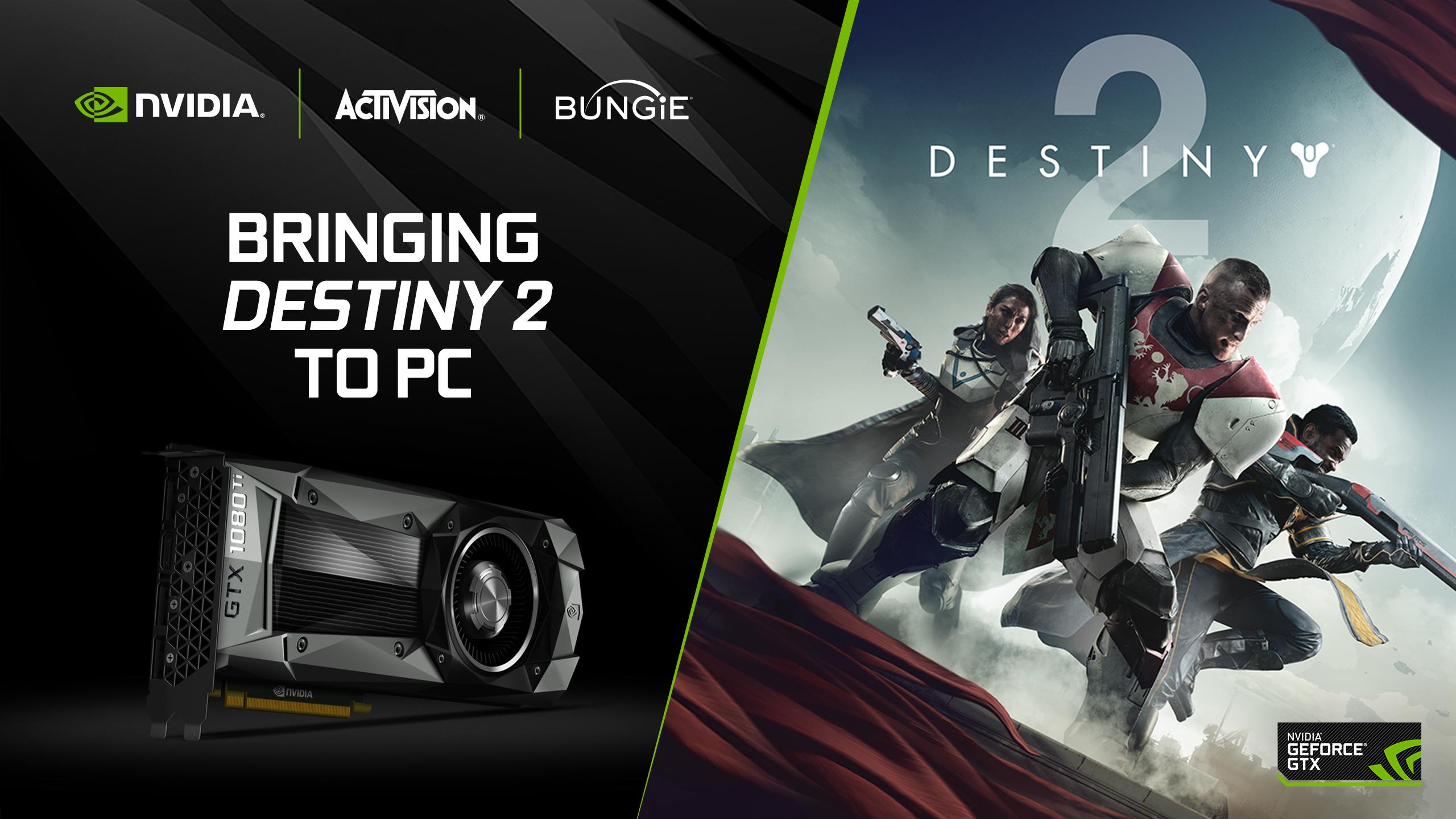 Geforce Destiny 2 4k 60 Fps Pc Beta Trailer Geforce