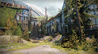 Destiny 2 - Foliage Detail Distance Example #001 - Low