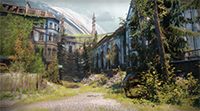 Destiny 2 - Foliage Detail Distance Example #001 - Medium