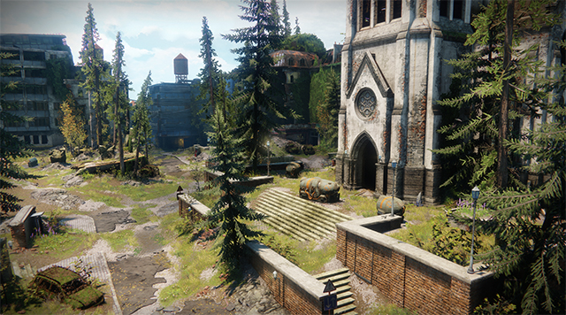 Destiny 2 - Foliage Shadows Distance Interactive Comparison #001 - Highest vs. Medium