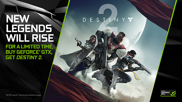 Destiny 2 NVIDIA GeForce GTX PC Bundle