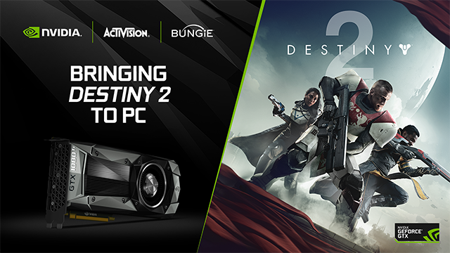 Destiny 2 NVIDIA, Activision, Bungie Collaboration
