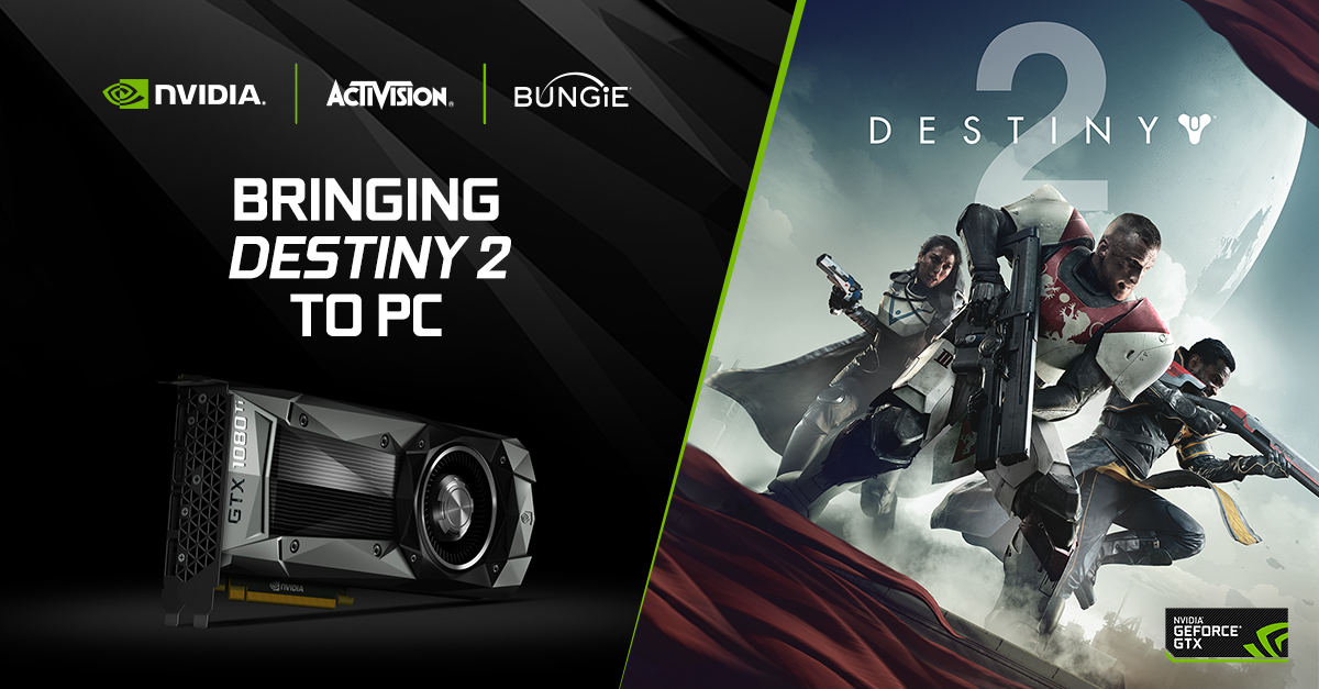Nvidia Collaborates With Activision And Bungie To Bring