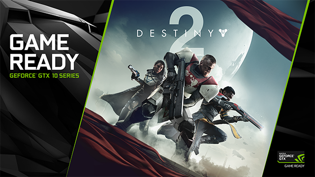 Destiny 2 Announced For PC - NVIDIA GeForce GTX Game Ready Key Visual