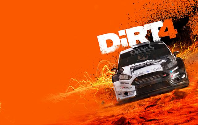 DiRT 4 Key Art