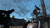Fallout 4 - Anti-Aliasing Example #002 - Anti-Aliasing Off