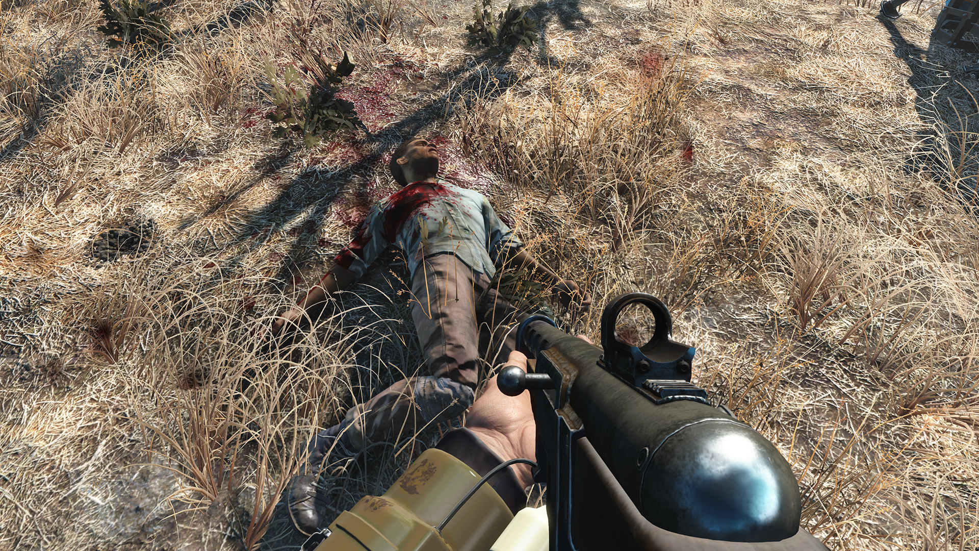 how to get up to jared in fallout 4