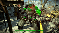 Fallout 4 - Depth of Field Example #002 - Bokeh Depth of Field
