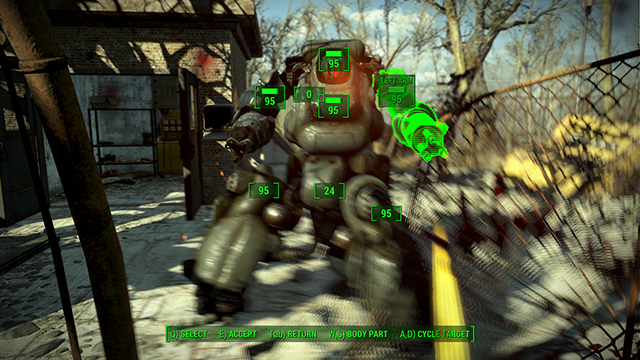 Fallout 4 - Depth of Field Interactive Comparison #002