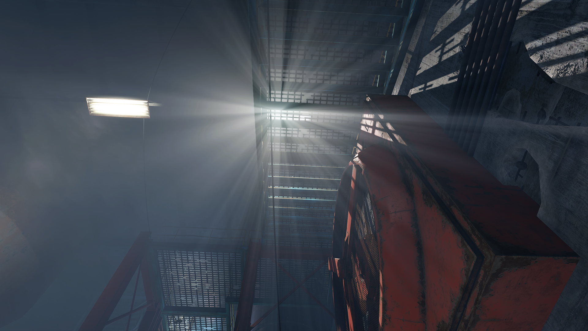 How To Use Wall Lights Fallout 4 : GeForce.com Fallout 4 God Rays Quality (NVIDIA Volumetric Lighting) Interactive Comparison ...