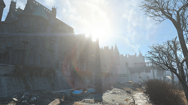 Fallout 4 - God Rays Quality Interactive Comparison #004