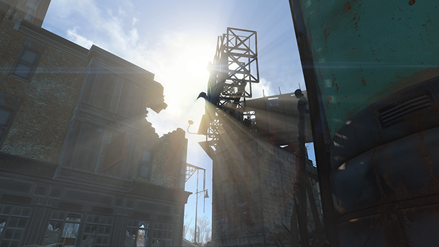 Fallout 4 - God Rays Quality GR Grid Size Tweak Interactive Comparison #006