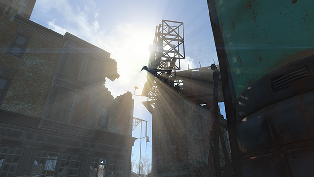 Fallout 4 - God Rays Quality Interactive Comparison #006