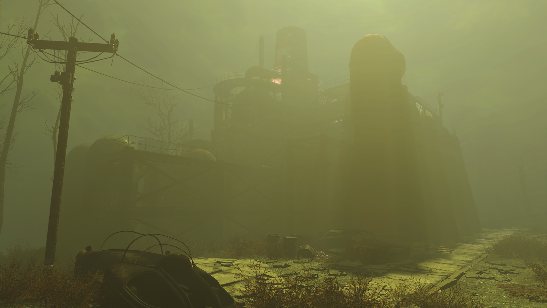 GeForce com Fallout 4 Lighting Quality Interactive