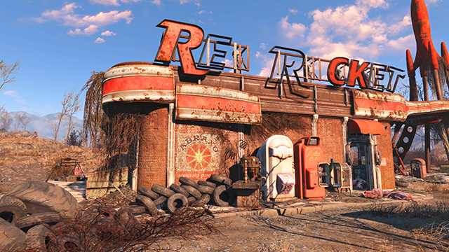 Fallout 4 - NVIDIA Dynamic Super Resolution Comparison