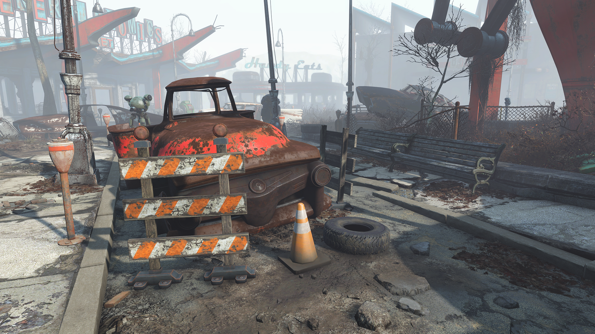 fallout 4 patch 1 3 adds nvidia hbao and flex powered weapon debris
