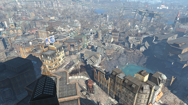 Fallout 4 - NVIDIA HBAO+ In Patch 1.3